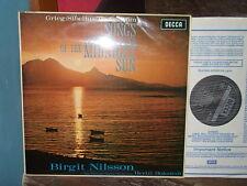 SIBELIUS GRIEG RANGSTRÖM: Songs > Brigit Nilsson Bokstedt / Decca SXL 6185 UK NB