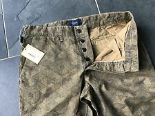 Paul Smith Estampado Ajustado Pantalones 32R