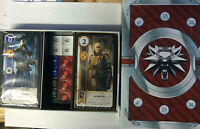 2x GWYNT DECK CARDS THE WITCHER 3 BLOOD AND WINE SANG ET VIN NEUF GWENT LIMITED