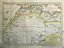 1788 Nice Brion de la Tour Map of North West Africa