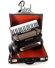 Rare TOP Italian Accordion Excelsior Mod.312 - 120 bass,10 reg.+Hard Case&Straps