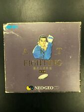 Art of Fighting Neo Geo CD Complete CIB Stickers SNK NGCD-0961 Japan No Coin