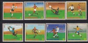 Equatorial Guinea #Mi1153-Mi1160 MNH CV€3.50 FIFA World Cup Germany Players Pele