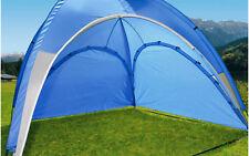 Berger Seitenwand für Pavillon Bologna blau Sonnenschutz UV-Schutz Seitenteil