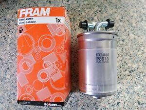 QUALITY FRAM DIESEL FUEL FILTER - FITS: SKODA SUPERB 2.5TDi V6 (2002-08)