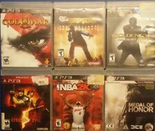 Lot #546 of (6) PS3 Games