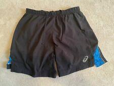 Asics running shorts  medium black