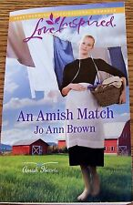 LOVE INSPIRED SERIES~by Jo Ann Brown~AMISH~EXCELLENT BOOK