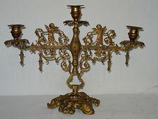 Messing Leuchter Kerzenleuchter Kandelaber Bologna 5 Flammig
