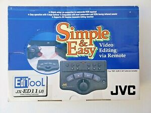 JVC Video Editing Controller JX-ED11 (J) Simple & Easy Video Editing Brand New