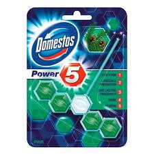 Domestos Power 5 Rimblock Toilet Cleaner Pine (1 Pack)