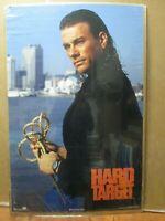 Hard target vintage Poster Van Damme 1982 Universal Inv#G4982
