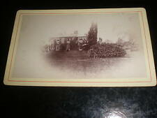 Cdv old photograph Holbrook rectory near Ipswich c1870s