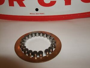z TRIUMPH BSA NOS Thrust washer 57-3931+CORRECT rollers 57-0394/42-3206 €FA JL21