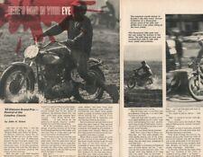1969 Elsinore Grand Prix Motorcycle Mud Race - 4-Page Vintage Article