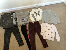 Girls Age 7/8 Years Big Bundle Clothes Winter Jeans Tops Outfits