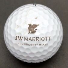 Jw Marriott Turnberry Miami Logo Golf Ball (1) Titleist Dt TruSoft PreOwned