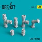 Line Fittings Resin Upgrade set for all 1/32 ResKit RSU32-0035
