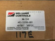 New Genuine Williams Controls WM-550 Pedal Assembly Freightliner A01-33398-000