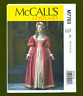 Elizabethan Era Gown & Skirt Costume Sewing Pattern (Sizes 6-14) McCalls 7763