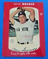 1952 STAR CAL DECALS ALLIE REYNOLDS ~ TYPE 1 ~ EX/MT