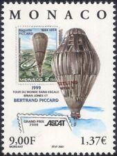 Monaco Breitling Orbiter/vuelo 2000/Aviación balón// Sello sobre sello 1 V (n38285)