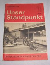 Unser Standpunkt - Deutsches Rotes Kreuz in der DDR Nr. 11 / 1987 !