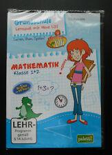 Grundschule - Lernspaß mit Hexe Lilli - Mathematik Klasse 1 + 2, CD-ROM WIN, NEU