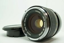 "[TOP MINT] Rare ""O"" Canon FD 35mm f/2 Wide Angle MF Prime Lens From Japan"