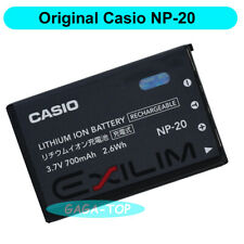Original Casio NP-20 Battery for EX-Z3 EX-Z7 EX-M1 EX-M20 EX-S4 EX- S20 EX-S500