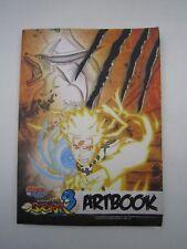 PS4 Xbox One Naruto Shippuden Ultimate Ninja Storm 3 Gallery Art Book NO Game