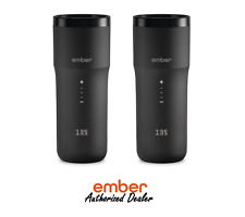 Ember Control Smart Travel Mug 2 - 12oz - App Controlled Coffee Cup - 2 Pack