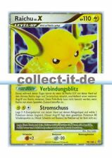 Pokemon Diamant & Perl - Sturmtief 99/100 - Raichu LV.X Deutsch