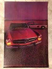 Mercedes Benz 280 SL Roadster ORIGINAL Large Poster RARE!! Awesome L@@K
