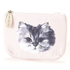 Paul & Joe Sister Mini Pouch Coin Purse Pocket Tissue Holder Cat Pale-Pink