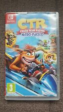 CTR Crash Bandicoot Team Racing Nitro Fuelled Nintendo Switch Game UK PAL TESTED