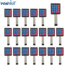 20pcs 16 Key Pad Matrix Membrane Switch 4x4 Keyboard For Arduino Prototyping Avr