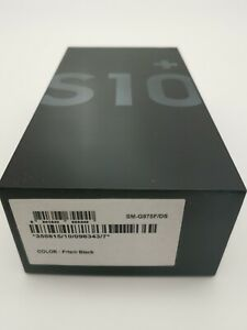 Samsung Galaxy S10+ SM-G975F/DS - 128GB - Prism Black (Libre) (Dual SIM)