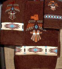 Thunderbird Embroidered Towel Set (Native American)
