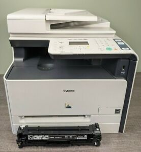 Canon imageCLASS MF8080Cw All-In-One Laser Printer 4K Prints! 4 New Toner/Extra!