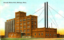 """Mt Montana Billings """"Russell Miller Mill"""" Ct-Chicago Posted Divided-back Card"""