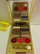Estee Lauder Lisa Perry Pure  Color eyeshow(8)reviera rose/lipstick(3)hot kiss
