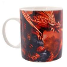 "STUNNING ANNE STOKES ""FIRE DRAGON"" MUG H:9.50CM  FREE POSTAGE"