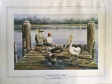 4x Gordon Hanley Artist Painting Print - Catch of The Day 47 X 62cm