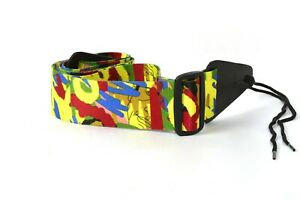 High Quality Nylon Durable Adjustable Printed Electric / Acoustic Guitar Belt
