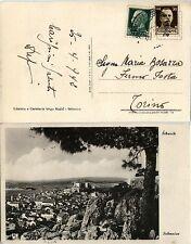 REGNO-IMPERIALE 25c+30c(247/248)-Cartolina Sebenico- Torino 25.4.1942