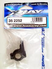 Xray XB808 Composite Steering Block Right 352252 modellismo