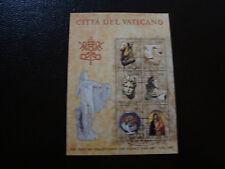 VATICAN - timbre Yvert et Tellier bloc n° 6 obl (Z3) stamp