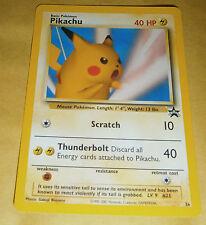 POKEMON BLACK STAR PROMO CARD - #26 PIKACHU