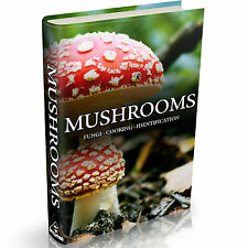 Mushrooms & Fungi Books on DVD Growing Cultivation Identification Cooking Recipe